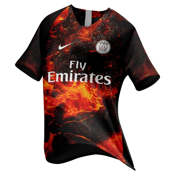 EA Sport Camiseta Paris Saint Germain 2018/2019 Naranja
